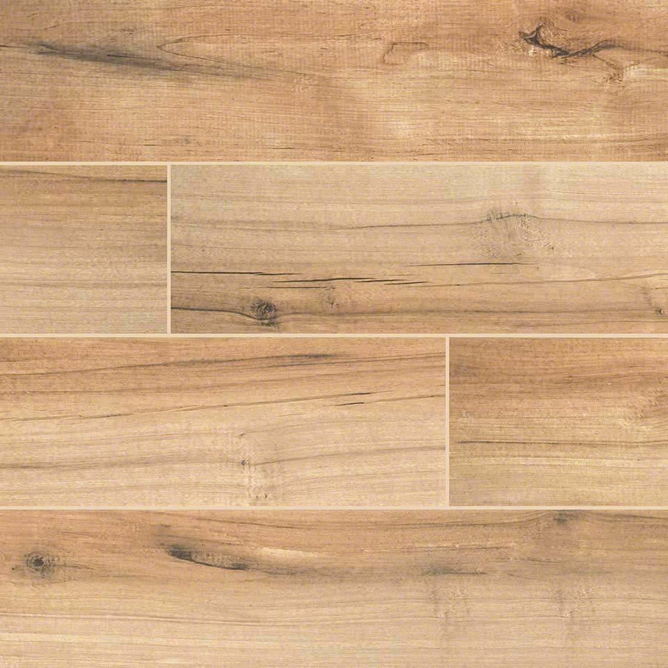 Wood look tile floors