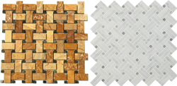 View Basketweave Mosaics