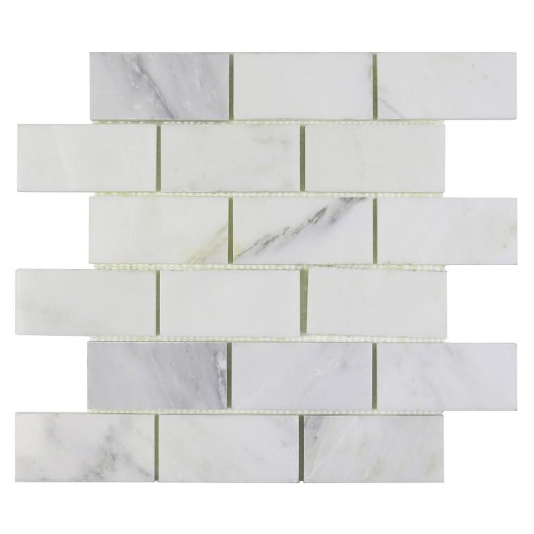 Calacatta Gold 2x4 Brick Marble