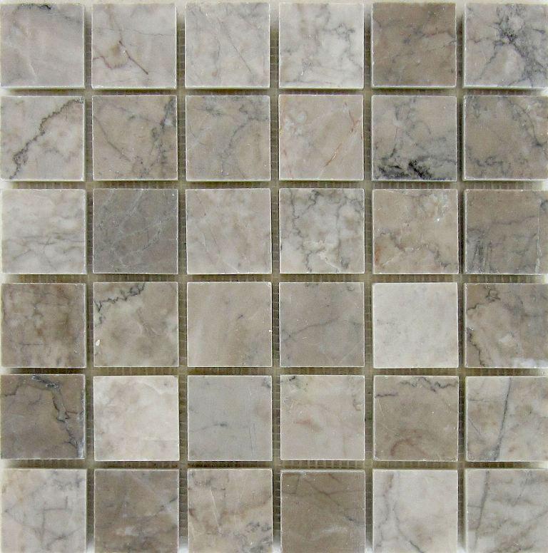 Temple Gray 2x2 Polished Mosaic