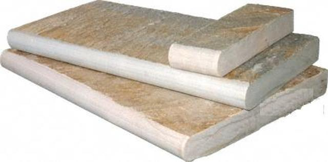 Golden White 12x24 4CM Pool Coping