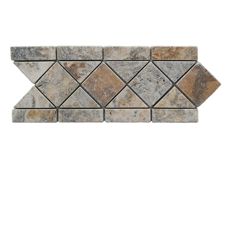 FREE SHIPPING - Scabos Tumbled Listello
