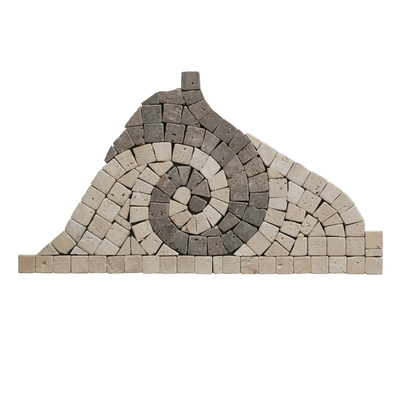 Chiaro Mix Wave Coner Mosaic