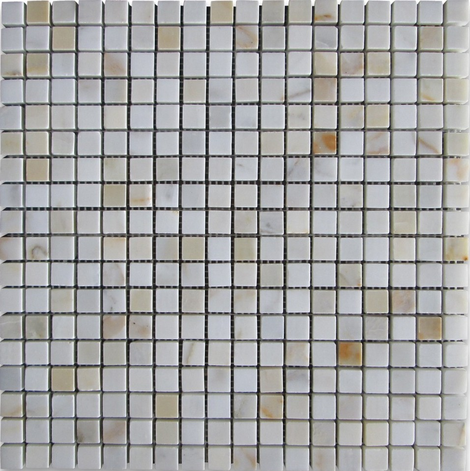 Calacatta Gold 5/8 Polished Mosaic