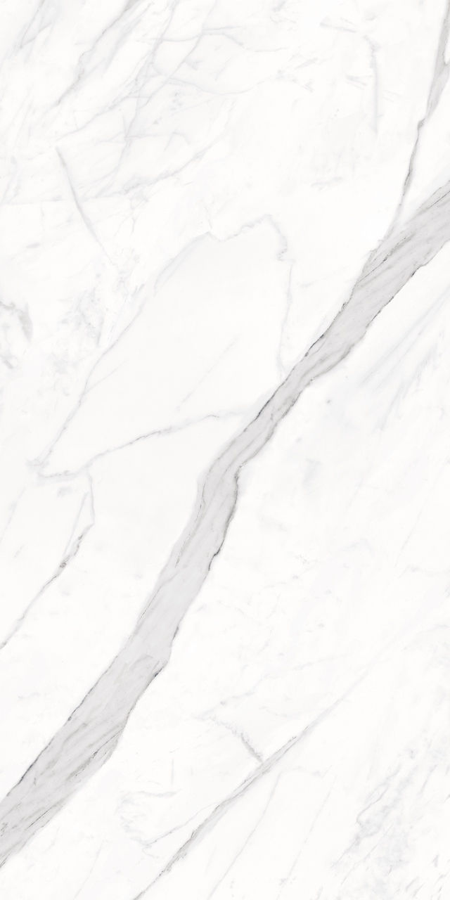 Bianco Calacatta 12x24 Polished Rectified Porcelain Tile