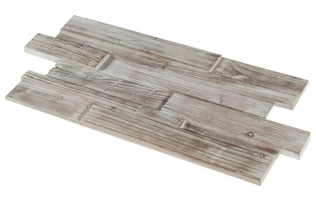 Antique Barn Teak 12x24 Wood Panel Mosaic