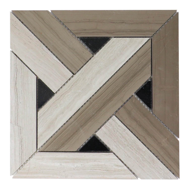 Arrow Weave 12x12 Mosaic