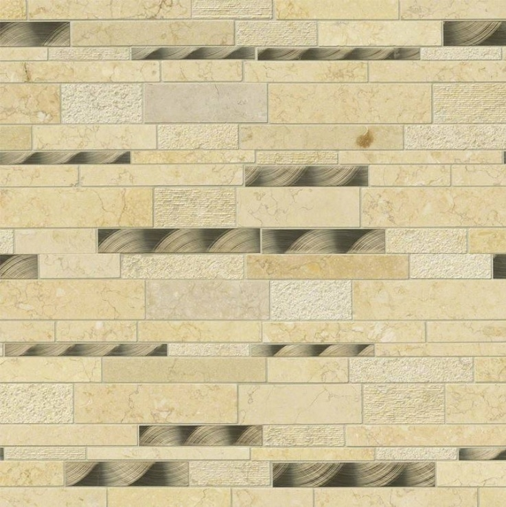 Cairo 12x18 Metallic Blend Backplash Wall Tile