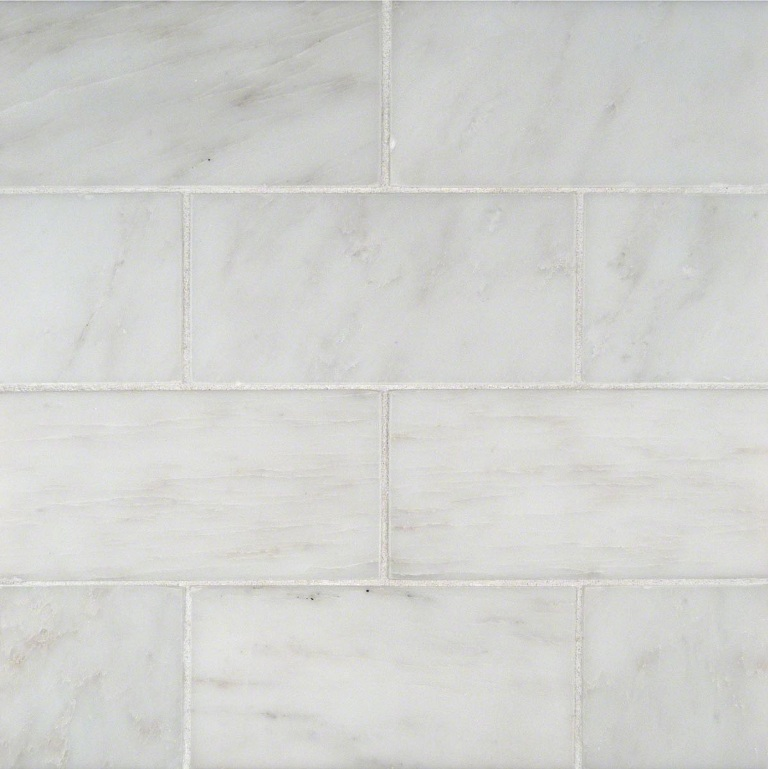 Greecian White 3X6 Subway Polished