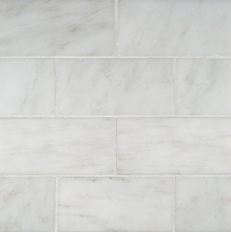 Greecian White 3X6 Subway Polished