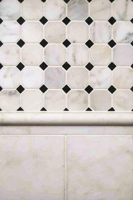 Oriental White 6X6 Subway Honed