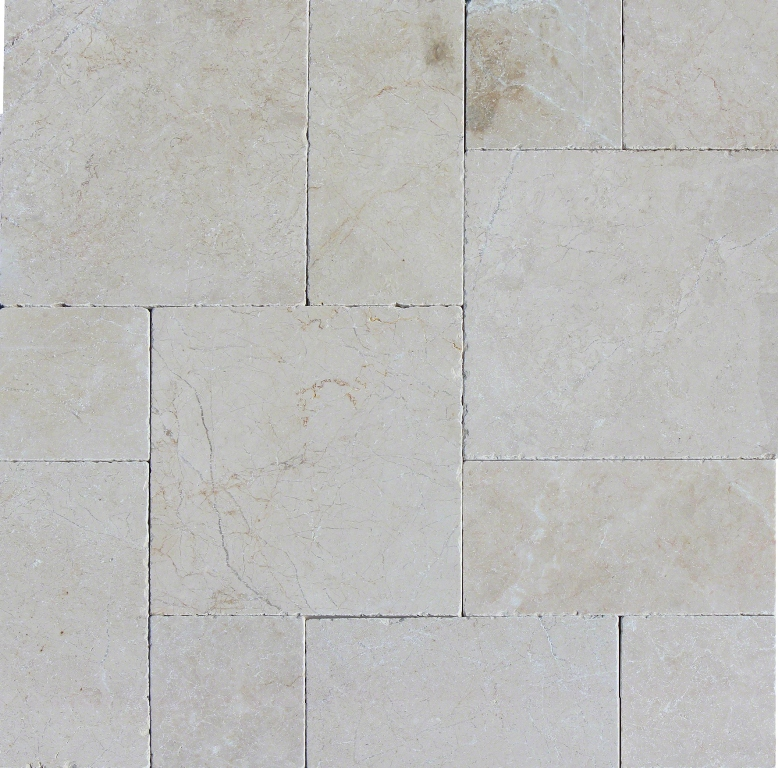 Aegean Pearl 3Cm French Pattern Pavers