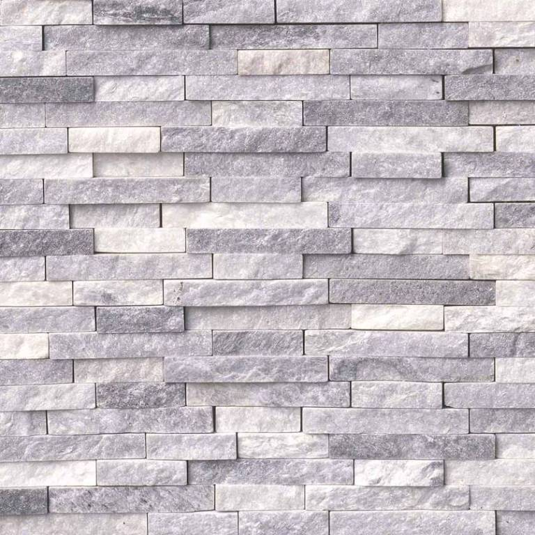 Alaskan Gray 12x12 Split Face Mosaic