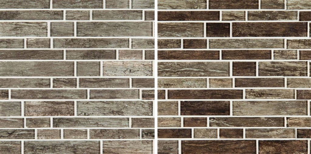 Antico 8mm Glass Interlocking Backplash Tile