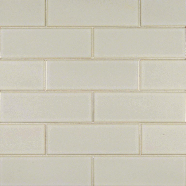 Antique White 4x12 Glazed Handcrafted Subway Tile