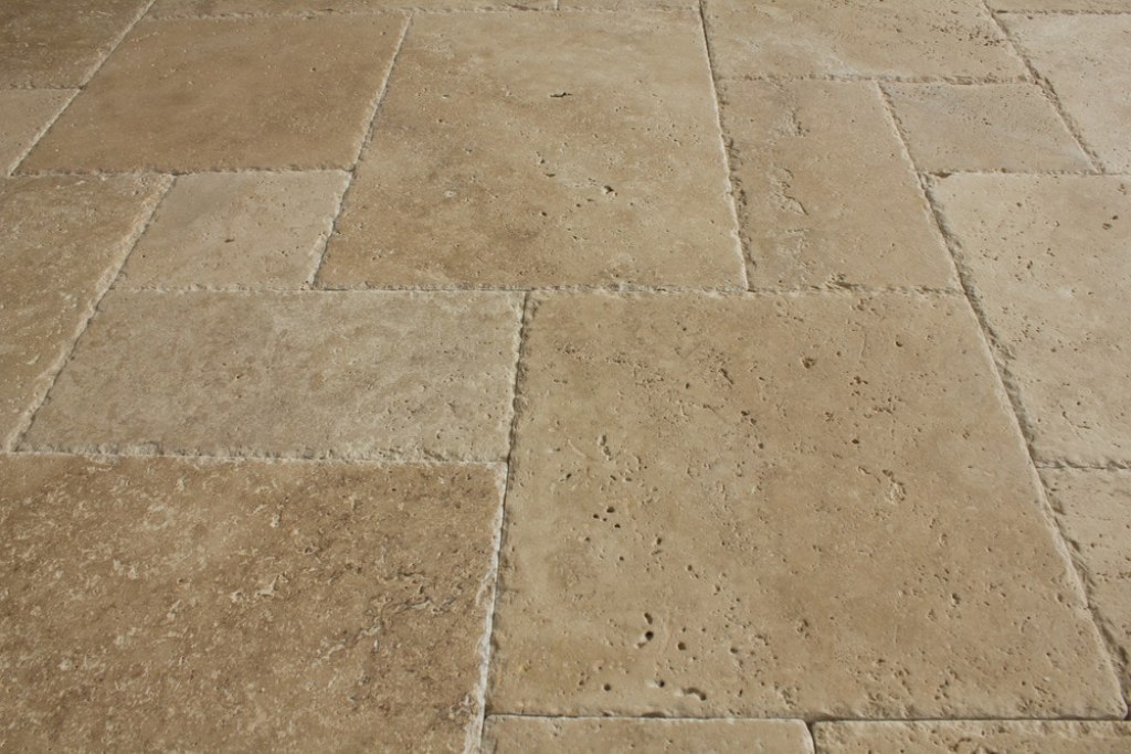 Tuscany Patika French Pattern Travertine Tile
