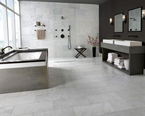 Arabescato Carrara 18x36 Marble (Large Size)