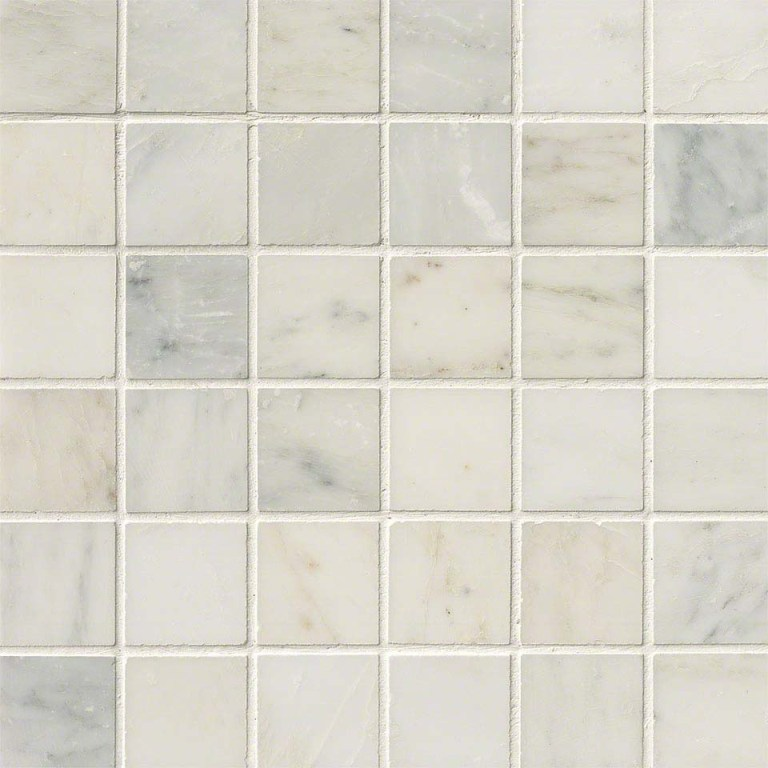 Greecian White 2x2 Honed Mosaic