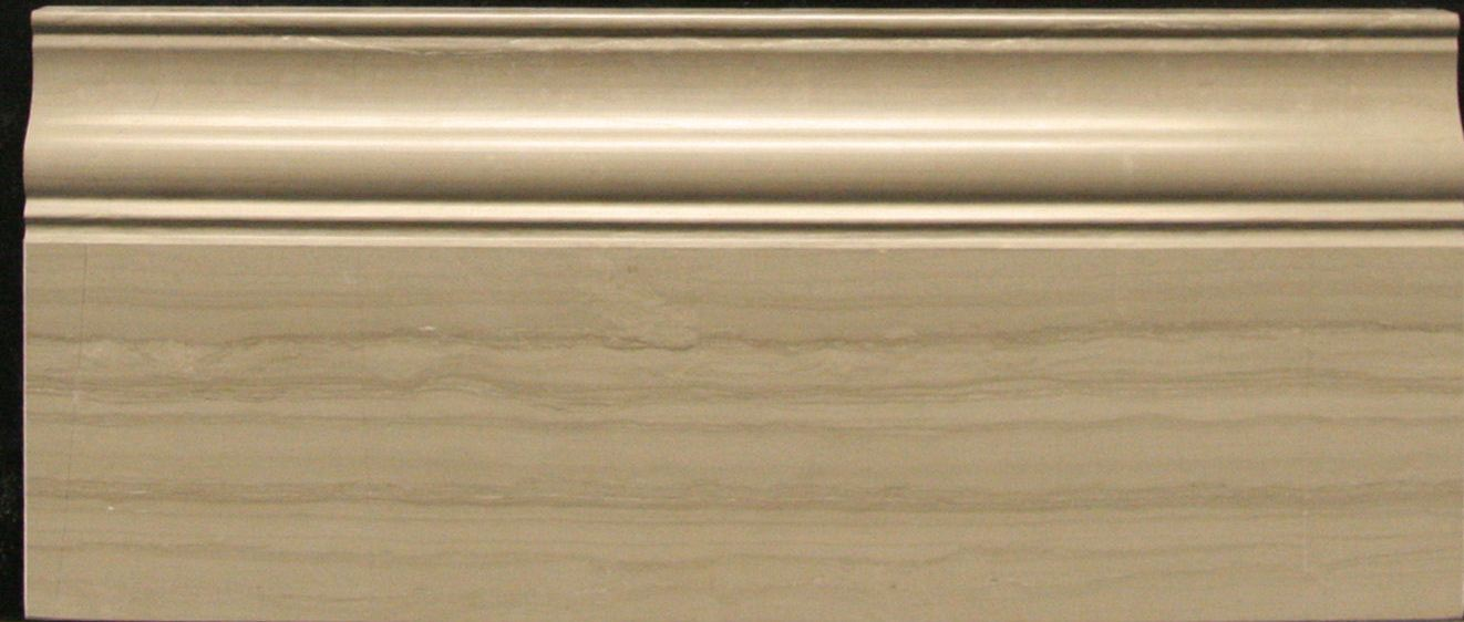 Athens Gray Honed 5x12 Base Molding