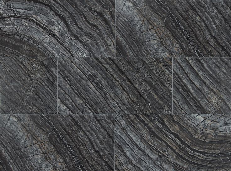 Black Oak 12x24 Polished Marble