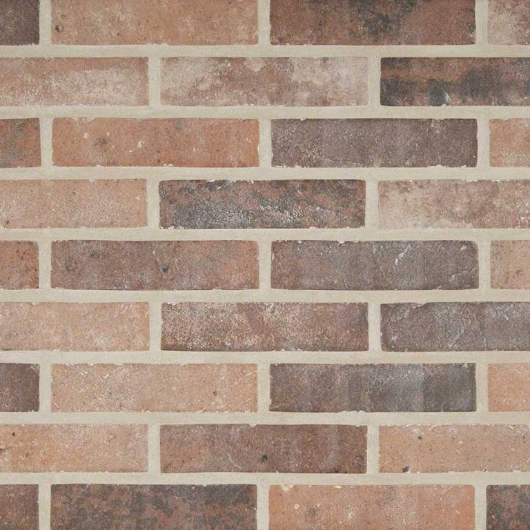 Capella Red Brick 2x10 Porcelain
