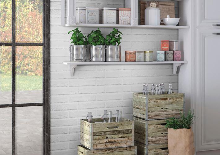 Capella White Brick 2x10 Porcelain