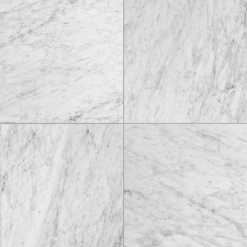 Carrara White 12X12 Polished