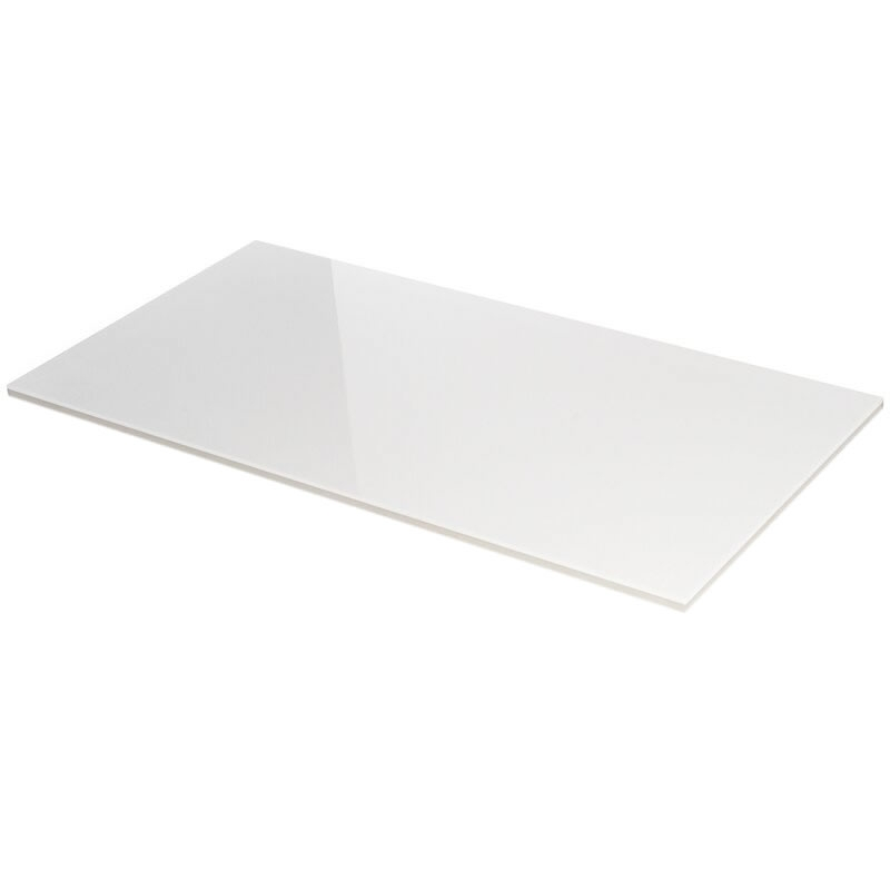 Absolute White 12x24 Polished Porcelain