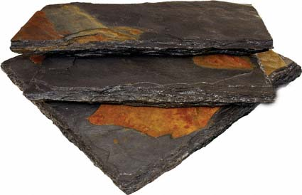 Charcoal Rust Wall Cap 12x24 Honed Chissled Sawn