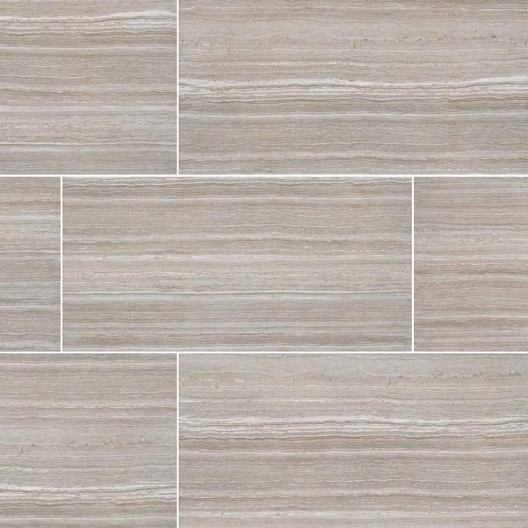 Buy Essentials Charisma Silver 12x24 Ceramic Tile Wallandtile