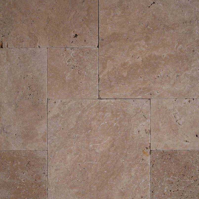 Coliseum 3 Cm French Pattern Travertine Pavers