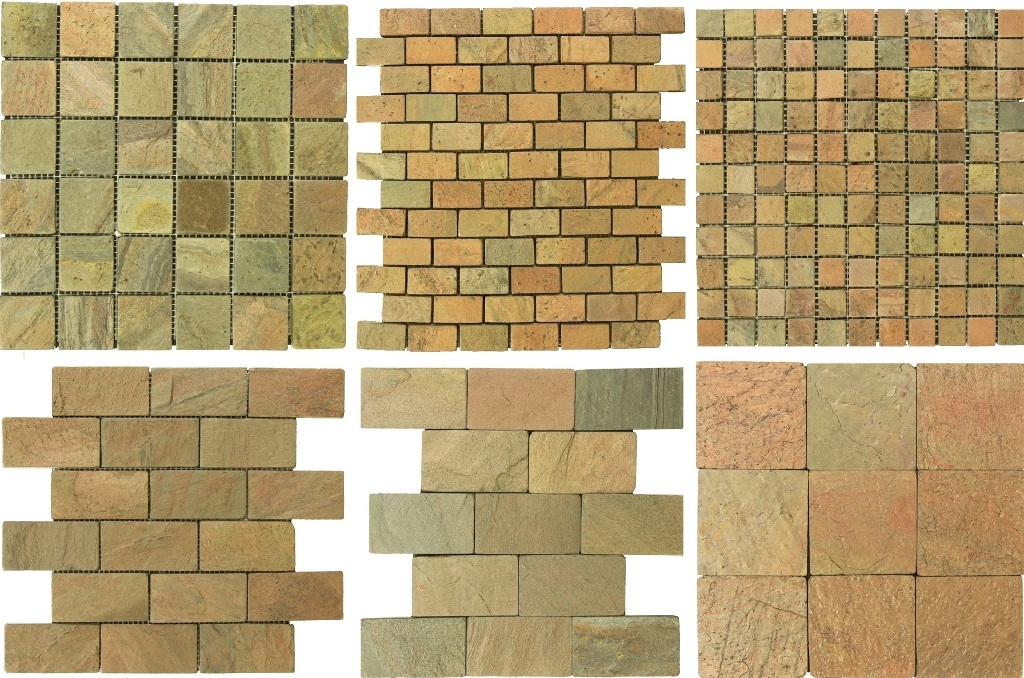 Copper Quartzite Mosaic Collection