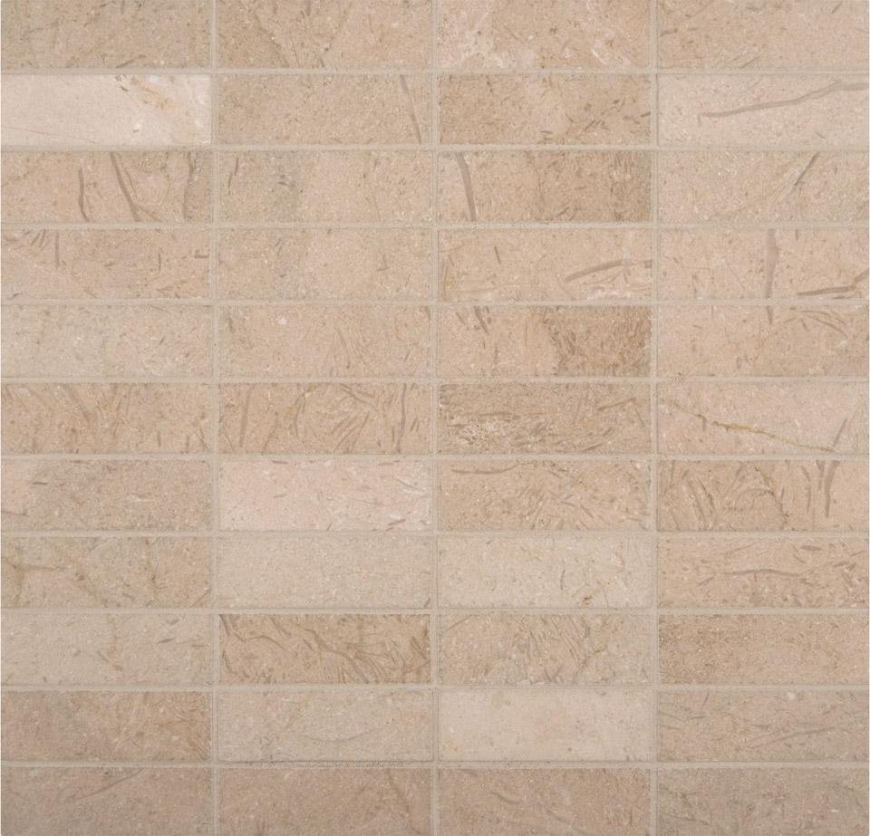 Crema Marfil 1x3 Polished Mosaic