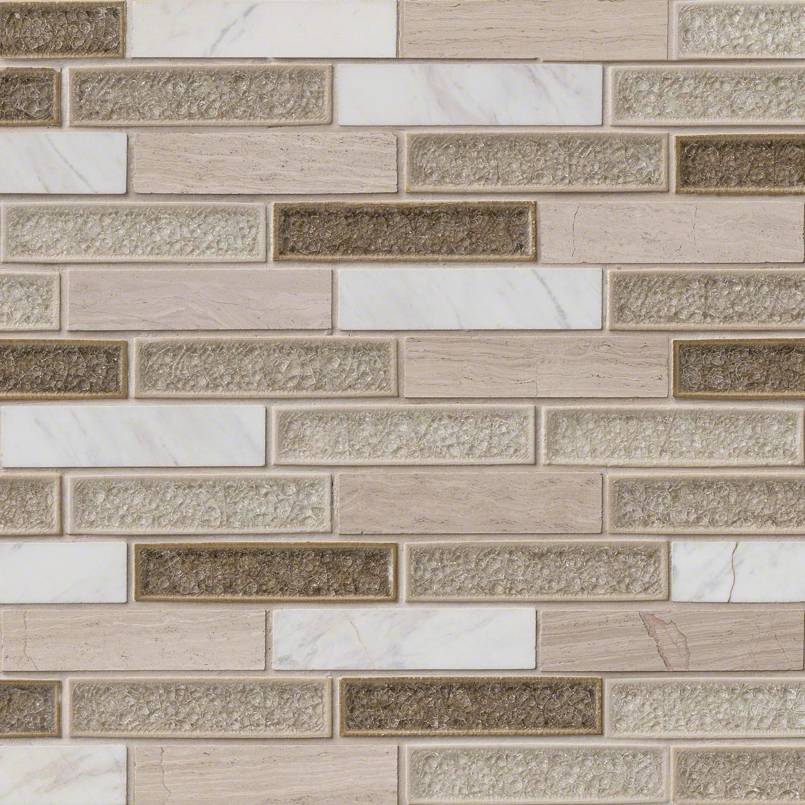 Crystal Cliffs 12x12 Interlocking Mosaic