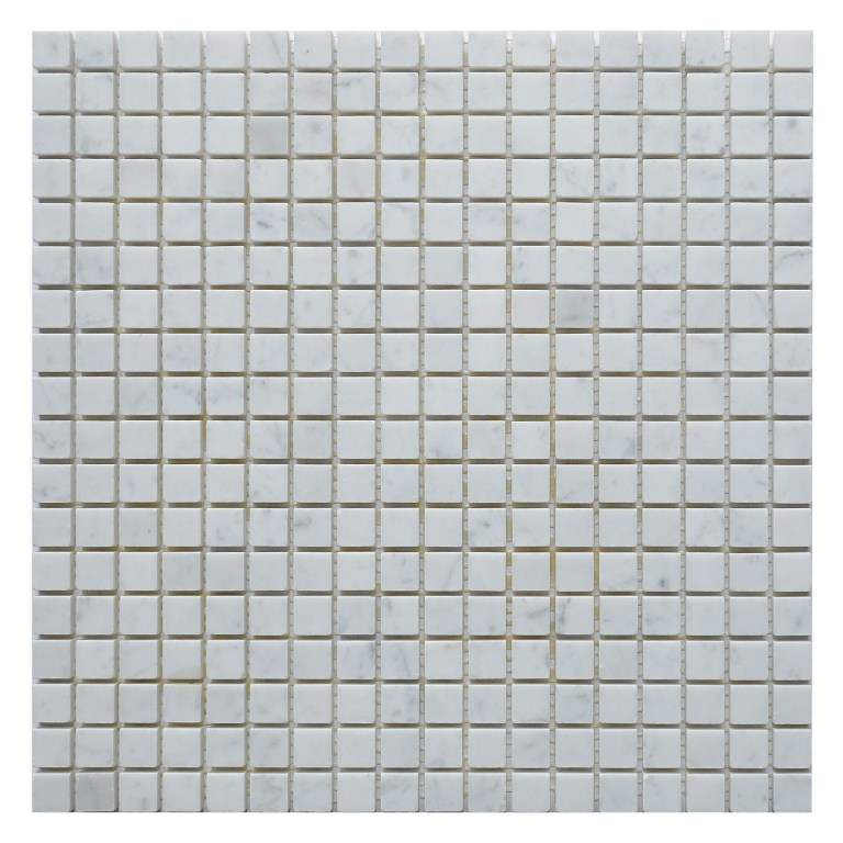 Arabescato Carrara 5/8 Polished Mosaic