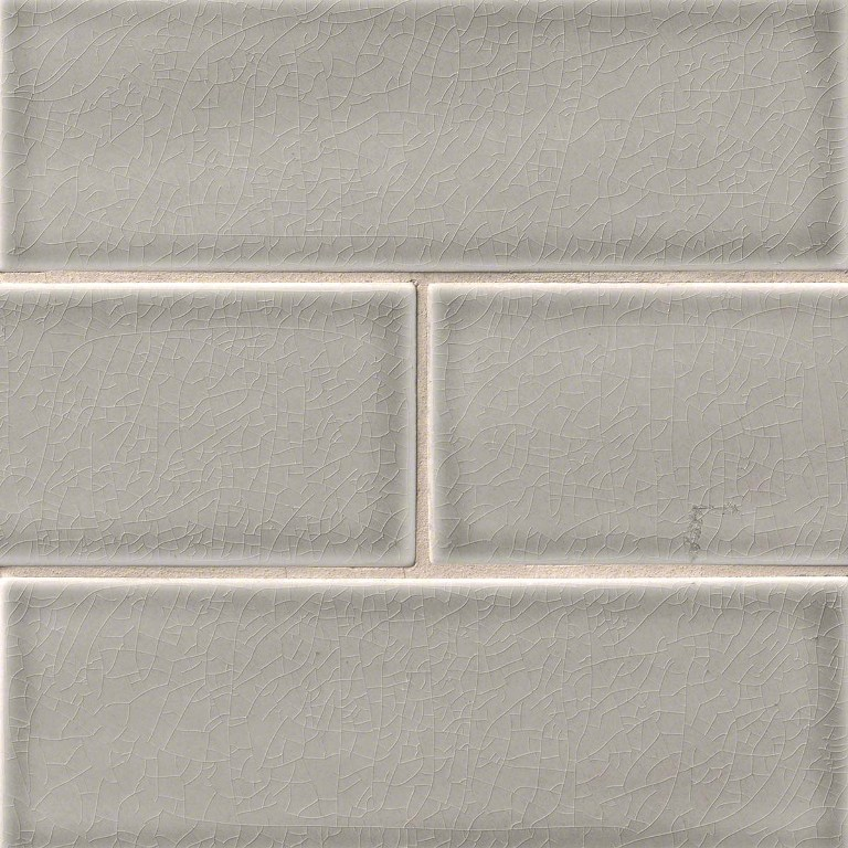 Dove Gray 4x12 Glazed Handcrafted Subway Tile