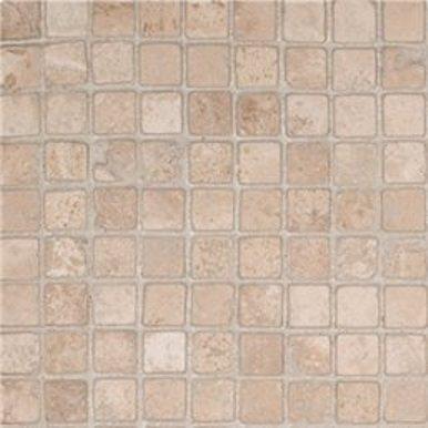 Durango Cream 5/8 Tumbled Mosaic