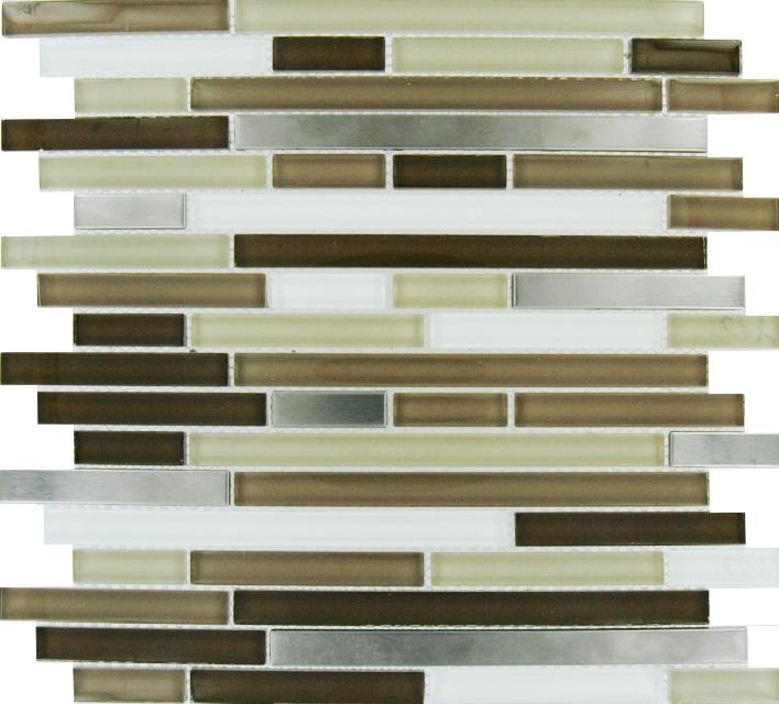 Escorial Blend 12x12 Interlocking Mosaic