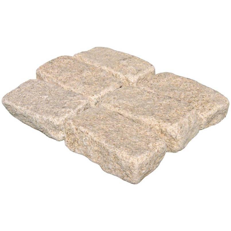 Giallo Fantasia 4X8 Cobble Stone