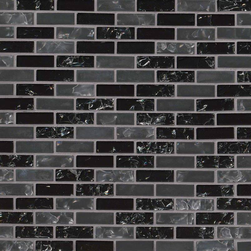 Glissen Brick 12x12 Glass Mosaic