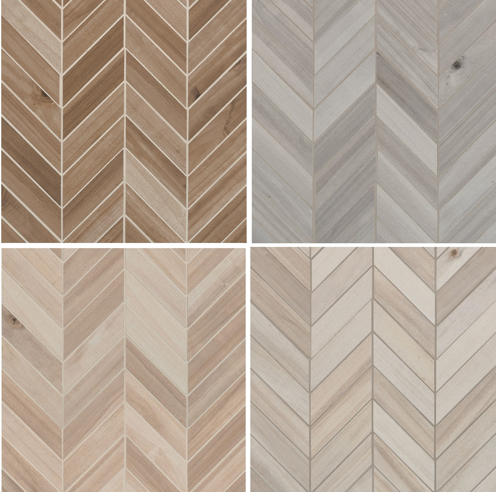 Havenwood Series 12x15 Chevron Mosaic