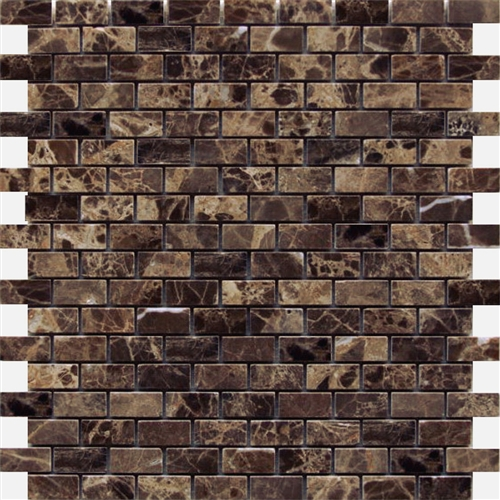 Emperador Dark Brick Polished