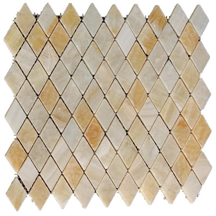 Honey Onyx Rhomboid Polished