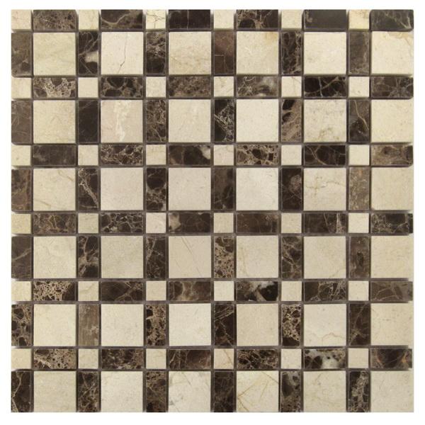 Rubix Blend 12X12 Mosaic