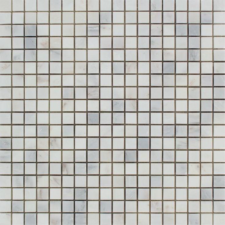 Carrara 5/8 Tumbled Mosaic