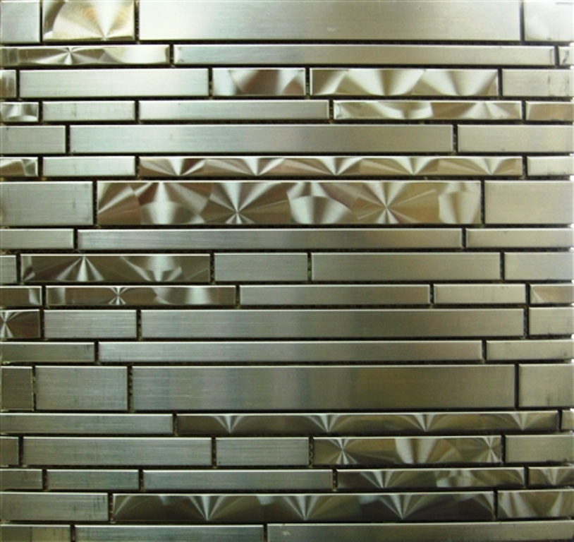 FREE SHIPPING Odyssey Stainless Interlocking Mosaic