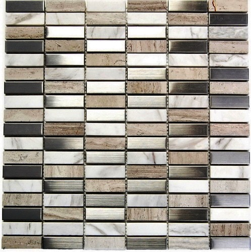 FREE SHIPPING - Arizona Metal Blend Mosaic