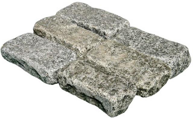 Impala Black 4X8 Cobble Stone