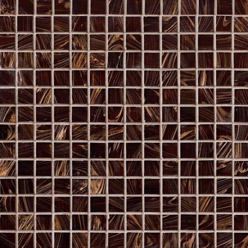 Brown Iridescent 12x12x4MM Mosaic