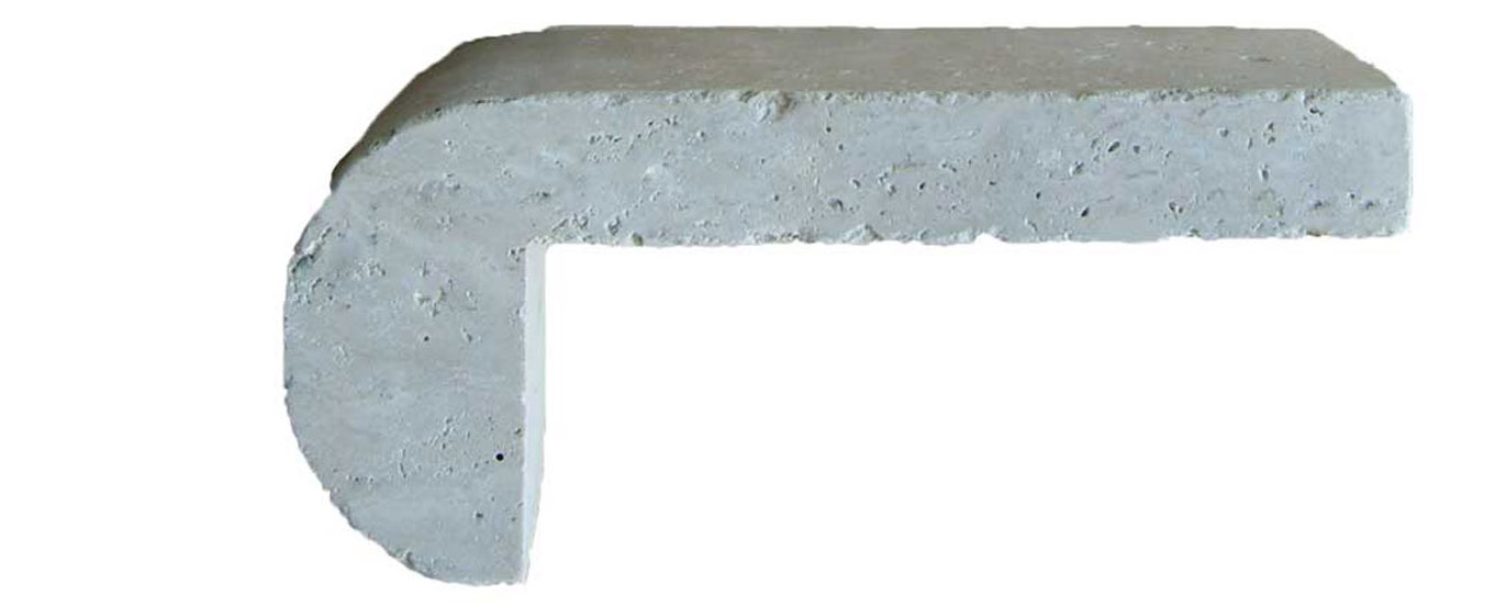 Tuscany Ivory 4x9 3CM Remodel Pool Coping